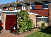 Family home in Cheshunt, 25 mins from Central London.