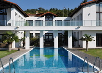Not available in 2015.  Villa with sea view, private pool near Izmir.