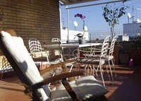 sunny penthouse apartment in Rome + 2nd house on the sea Sapri/Cilento