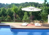 Beautiful house with private swimming pool 45km from Barcelona