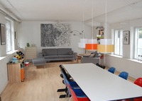 Great Townhouse, central Copenhagen.180m2 spacious.
