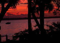 Early Morning Sunrise in Cocoa, Florida on the Indian River