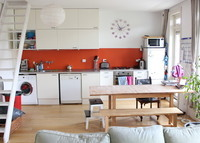 AMSTERDAM, sunny and spacious family appartement with balcony