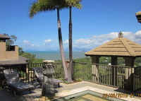 Luxury in Palm Cove  Outstanding views down the coast to Cairns.