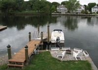 Charming 3 Bedroom Waterfront Cottage with Great Views and Sunsets