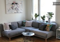 Beautiful apartment with balcony on the best city island in Stockholm
