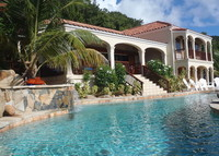 Tortola, British Virgin Islands, pool, hot tub, 5 minute walk to beach