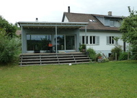 House in Glattfelden between Rhinefall and Zurich, nature & culture together