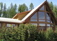 Chalet style home,surrounded by nature,located just few minutes from downtown Cranbrook