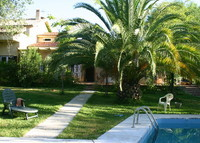 Large private village in residencial area. 10 minutes from Seville city center