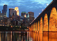 Condo in downtown Minneapolis, near parks, museums, Mississippi River.