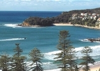 Manly Beach: (city). Stunning beach & harbor views, centrally located