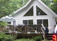 2 bedroom A frame on beautiful Lake George New York with lake access