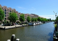 wonderful and central Amsterdam canal house apartment.