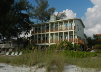 Gulf Front- Florida Style Beachhouse nestled in the pines with sweeping views of white beaches and clear gulf water
