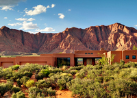 Beautiful custom home in the stunning red rocks of Southern Utah