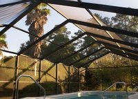 Three bedroom home in Dunnellon, FL with pool and hot tub.