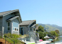 Stinson Beach home on quiet Seadrift lagoon