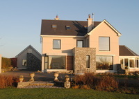 Kinvara, Galway.  Luxury  home overlooking Galway Bay .