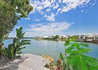 Waterfront home with pool and views near Noosa and Brisbane.