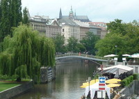 Large apartment with Castle view, in historic Prague