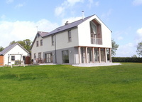 Large family home, close to Belfast, lovely views over countryside