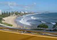 Beautiful beachfront penthouse on Queensland's Sunshine Coast