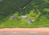 A 5 bedroom 3 bath oceanfront home in Prince Edward Island