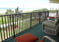Direct oceanfront apt in Cocoa Beach FL