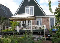 House 20 min to center Amsterdam, nice view, 4 bedrooms, sauna, garden