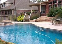 5 Bedroom w/Pool, tile & wood floors, big kitchen in The Woodlands, TX