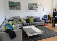 Barcelona penthouse Apartment in Charming, Family Friendly Suburb