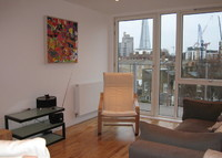 New Two-bed apartment near Tower Bridge with views over London.