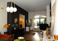 Brussels centraly located cosy duplex  flat ( bi level ) with garden