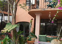 Spacious and light two bedroom, two bathroom 19th century town house in the historic centre of San Miguel Allende with garden a few minutes walk from the main square