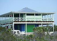 The Cat Island Boathouse on 3 1/4 acres of private beachfront