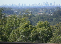 Gold Coast Hinterland but close to everything with coastal views .