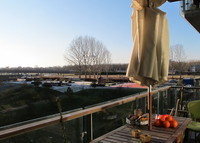 Modern appartment close to the city centre with balcony and great view