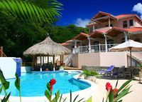 Luxurious, Ocean View Six Bedroom/Bath Villa located in St. Lucia