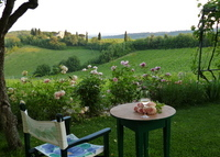 Tuscan  retreat of an Artist in Chianti , Siena. www.juliadesign.it