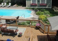 Beautiful Home w/ Guest House too! Pool, gardens and hot tub.