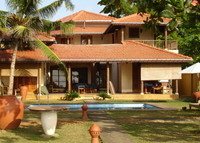 Stunning Beachfront  Home, South of Sri Lanka, fully staffed.