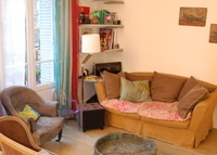 Lovely duplex flat in Paris Center (Montparnasse) 80m²:3Bedrooms+2Bath