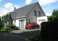 Modern single comfortable house near Belgium, Luxemburg and Germany