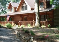 Log Home Mountain Views Retreat  Swoope, Virginia