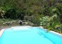 St.Martin, 2 bedroom villa, ocean view, counter current swimming pool