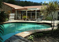 Large beautiful home on the Sunshine Coast with in-ground pool.