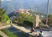 Italy - Liguria - behind The Riviera - spectacular view - cosy house.