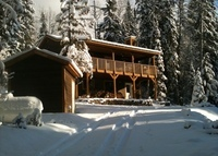 Cabin near Golden, BC, Canada - close to skiing and national parks.