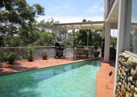 Sydney, Australia. Contemporary 4 bedroom home with swimming pool